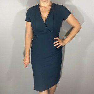MM LaFleur Emma soft wool fitted dress STUNNING